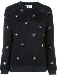 Zoe Karssen embroidered spider sweatshirt €205 farfetch.com