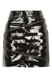 Top Shop Vinyl Sequin Zip Mini Skirt 68,00 €