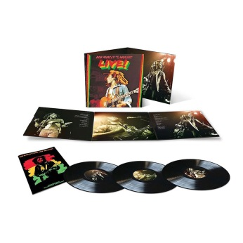 Bob Marley & The Wailers Live! (3 LP) € 40,49