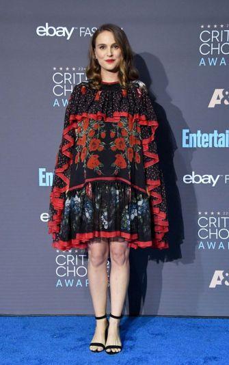 Natalie Portman in Alexander McQueen