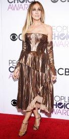Sarah Jessica Parker in J. Mendel Couture