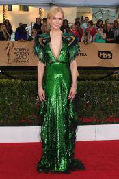 Nicole Kidman in Gucci e gioielli Fred Leighton