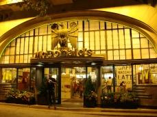 L'imperiale McDonald's a Porto, Portogallo.