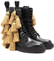 Burberry Tassel detail leather army boots €400 monnierfreres.com