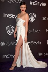 Miranda Kerr in August Getty