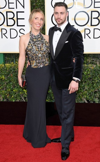 Sam Taylor-Johnson e Aaron Taylor-Johnson in Tom Ford