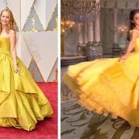 Oscar 2017, carpet v characters