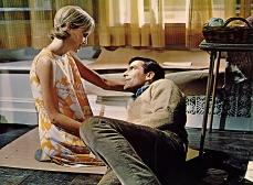 Mia Farrow in Rosemary's Baby (1968)