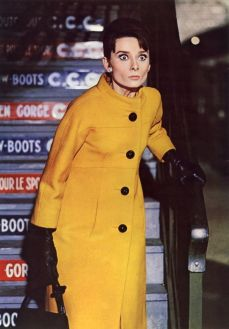 Audrey Hepburn in Sciarada (1963)