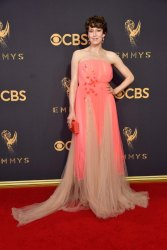 Carrie Coon in Delpozo