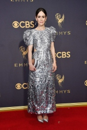Sarah Paulson in Carolina Herrera