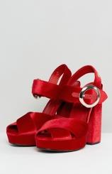 Tommy Hilfiger Velvet Platform Sandal €120 asos.com