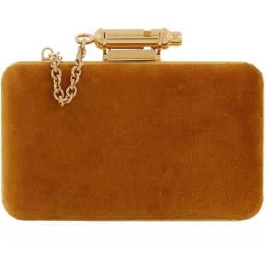 Sophie Hulme 'Whistle' velvet clutch €675 lanecrawford.com