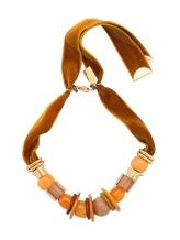Lizzie Fortunato Jewels Amber Savanna beaded necklace €495 farfetch.com
