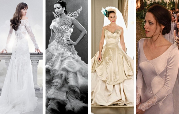 Vestito Da Sposa Katniss Everdeen.Hunger Games Scarlet Boulevard