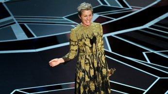 Miglior attrice protagonista: Frances McDormand. Previsione azzeccata.