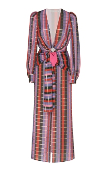 Alessandra Rich Multicolored Silk Georgette Dress €3.135