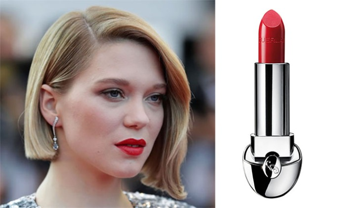 Il rouge intenso di Lèa. GUERLAIN Rouge G di Guerlain, N°25 Flaming Red €28,90