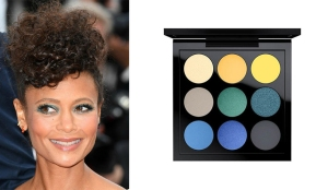 Lo smokey savana di Thandie Newton. MAC Eye Shadow X 9 / Tropic Cool Times Nine €42.00