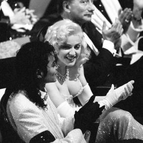 La Regina del Pop seduce King of Pop Michael Jackson agli Oscar, 1991