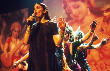 La sua performance ai VMA's 1998, in cui danza sensuale avvolta da immagini mistiche e simboli che si riferiscono alla religione Indù, offende la comunità religiosa induista.