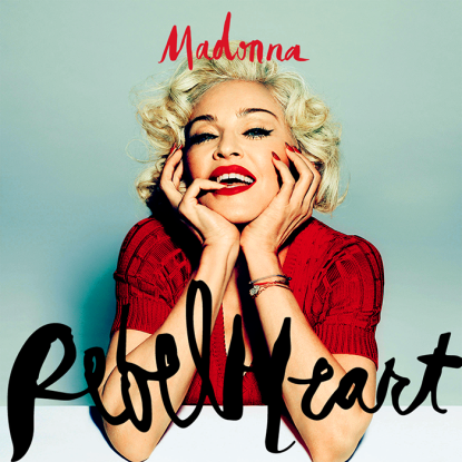 """Divulga sul web un frammento della nuova canzone Rebel Heart ma i fan la criticano, """"E' stonata!"""" 2015"""