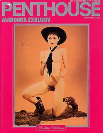 Nuda sulla cover di Penthouse, 1987