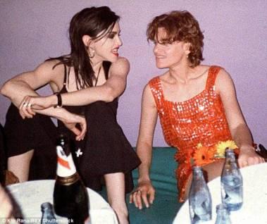 La relazione saffica con Sandra Bernhard, 1988