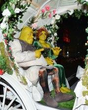 Heidi Klum e il marito sono Fiona e Shrek.