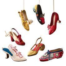 2018 Shoe Ornament Set $84.00 da The MET Store