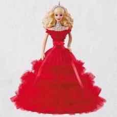 2018 Holiday Barbie™ Doll Ornament $19.99 da Hallmark