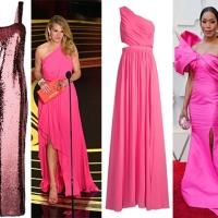Bella in rosa come agli Oscar 2019