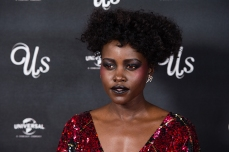 """LONDON, ENGLAND - MARCH 14: Lupita Nyong'o attends UK exclusive screening of """"Us"""" at Picturehouse Central on March 14, 2019 in London, England. (Photo by Jeff Spicer/Getty Images for Universal)"""