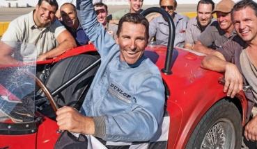 Christian Bale è il pilota al soldo della Ford, Ken Miles in Le Mans '66 (2019)