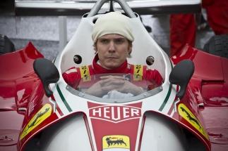 Daniel Brühl è il campione-computer della Ferrari, Niki Lauda in Rush (2013)