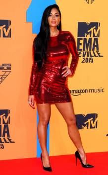 Nicole Scherzinger in Tom Ford