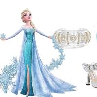 Un look da regina delle nevi (e delle feste) come Elsa di Frozen