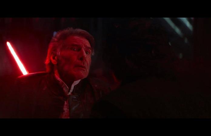 Menzione speciale, la morte di Han Solo ne Il risveglio della Forza