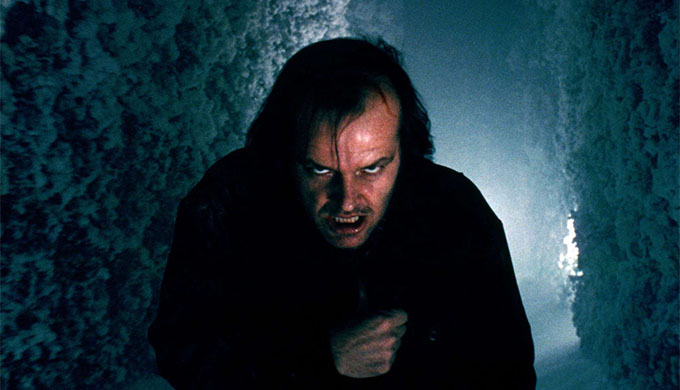 The Shining - Jack Torrance (Jack Nicholson) in hedge maze