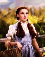 Judy Garland ne Il Mago di Oz, 1939