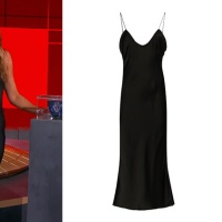Emmy 2020, uno slip dress nero come Jennifer Aniston