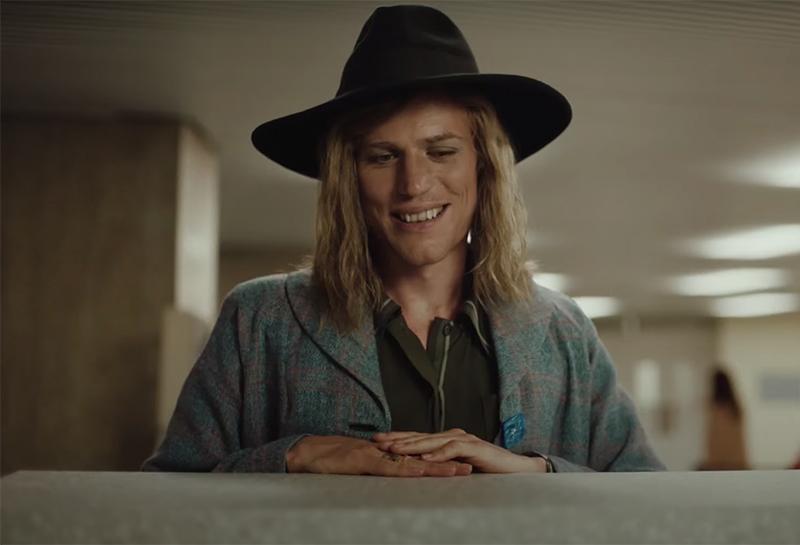 Johnny Flynn in Stardust, 2020