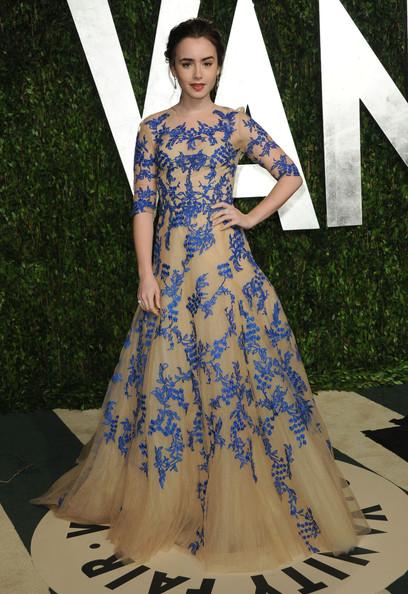 In Chanel ai Vanity Fair Oscar Party 2012