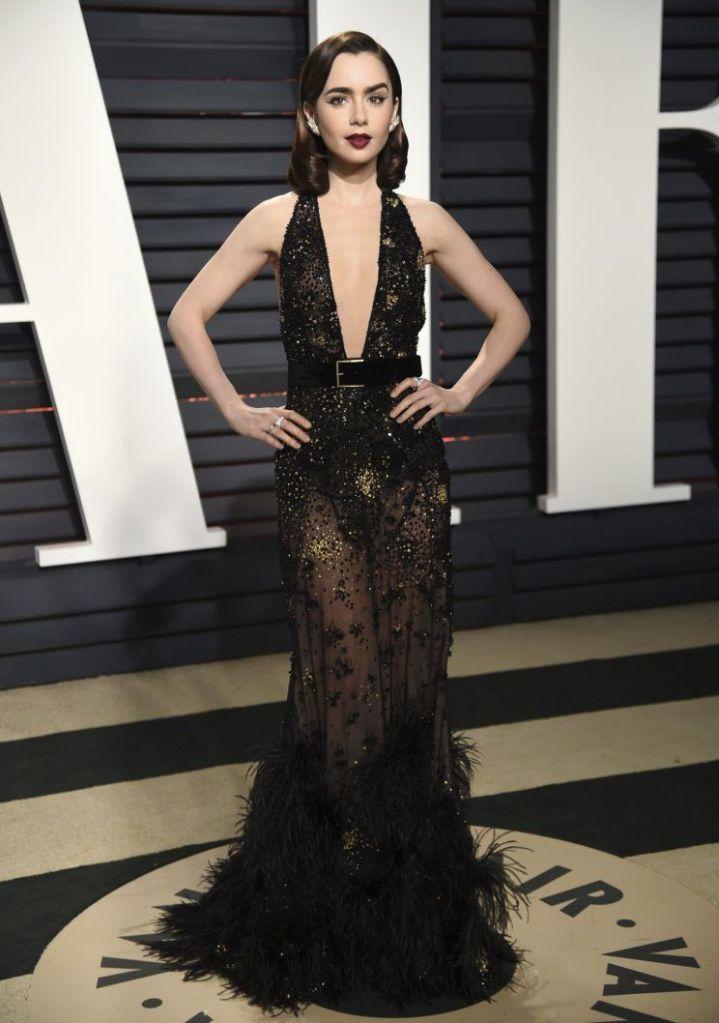 In Elie Saab ai Vanity Fair Oscar Party 2017