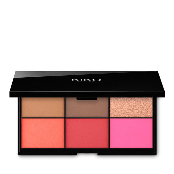 Kiko smart essential face palette - 50 % 9,99 €