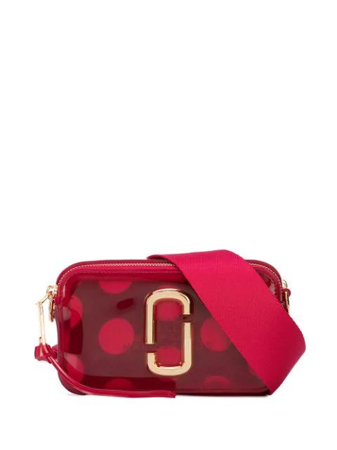 Marc Jacobs The Jelly Snapshot camera bag $237 da farfetch.com